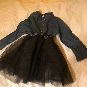 Other - Denim puffy dress